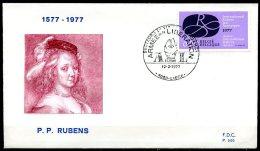 BE   FDC  1838   ---   Année Rubens  --  Obl. Liège - FDC