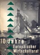 Magazine Revue Tijdschrift - OEEC - 10 Jahre Europa - Europaischer Wirtschaftsrat - 1957 - Livres, BD, Revues