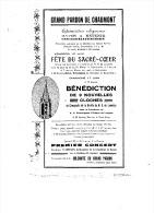 LE GRAND PARDON De CHAUMONT BENEDICTION De 9 CLOCHES  GROTTE N. D De LOURDES - Zonder Classificatie