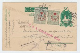 Turkey CENSORED POSTAL CARD - 1858-1921 Empire Ottoman