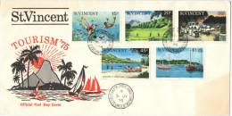 SAINT VINCENT - ST.VINCENT - 1975 - TOURISM - FDC - St.Vincent (...-1979)
