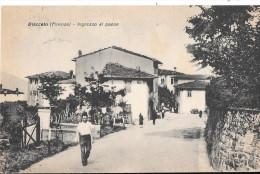 TOSCANA-FIRENZE-DIACCETO INGRESSO AL PAESE ANIMATA - Italia