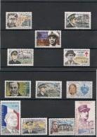 Saint Pierre Et Miquelon    Personnages Années  1987/98 Tous** Côte: 23,00 € - Collections, Lots & Séries