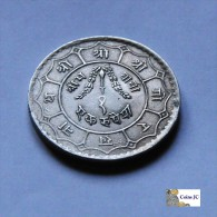 Nepal - 1 Rupia - 1956 - Népal