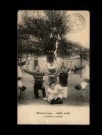 29 - PLOUDALMEZEAU - Société Arzelliz - Pyramide - Gymnastique - Ploudalmézeau