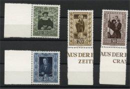 LIECHTENSTEIN, FAMOUS PAINTINGS FROM 1953 (VI) MNH SET - Liechtenstein