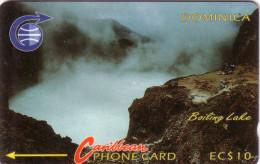 DOMINIQUE DOMINICA BOILING LAKE CHUTES D EAU WATERFALLS N° 4CDMA..... UT - Dominica