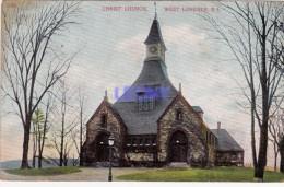 CPSM 9X14   De  WEST LONDALE R.I.  CHRIST CHURCH - Etats-Unis