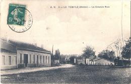 LE TEMPLE  Grande Rue  PLIMarqué - MEDOC - France