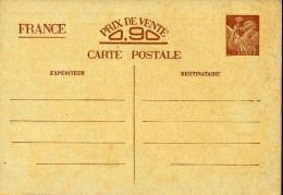 FRANCE Y&TEntier - Carte-postale - Iris SV-CP1 ** - Cartes Postales Types Et TSC (avant 1995)
