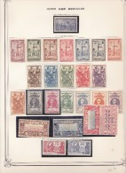 Collection sur feuilles Yvert standard - cote 1223� - 27 scans