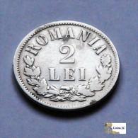 Rumania - 2 Lei - 1875 - Roumanie