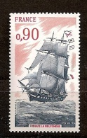 """Frankreich 1975, Nr. 1945, Großsegelschiffe Segelschulschiff """"Melpomène""""  Postfrisch Mnh ** - France"""