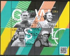 PL 2014 MI BL 227 USED - Blocks & Kleinbögen