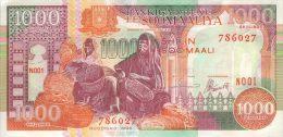 Somalia 1000 Shillings 1996 Pick 37b UNC - Somalia