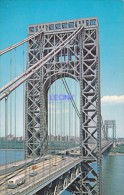 CPSM 9X14    De NEW YORK  - GEORGE WASHINGTON BRIDGE - Ponts & Tunnels