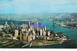 CPSM 9X14    De NEW YORK  -AERIAL VIEW Of LOWER MANHATTAN - Manhattan
