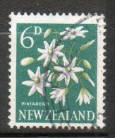 N ZELANDE  Fleurs  1960-67  N°389 - Used Stamps