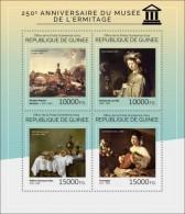 Guinee 2014 Hermitage Museum Rembrandt Caravaggio Paintings S/S GU14402 - Unclassified