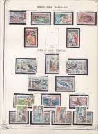 Collection sur feuilles Yvert standard - cote 760� - 16 scans