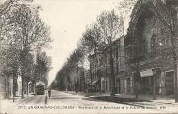 Hauts De Seine : La Garenne-Colombes, Bd De La Republique Et Le Palace Garennois - Otros Municipios