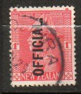 N ZELANDE  Service 1p Rouge   1927-28  N°64 - Officials