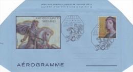 Vatican City 1983 A 21 500th Anniversary Of The Birth Of Raffaello Sanzio, FDC Aerogramme - FDC