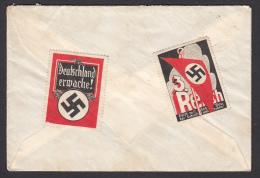 AUSTRIA - Liebenau (Graz), Cover, Envelope - Third Reich, Dritte Reich, Interessante Stempel, Interesting Stamps - Cartas