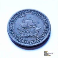 Token - 1/2 Penny - Bristol - 1811 - Münzen