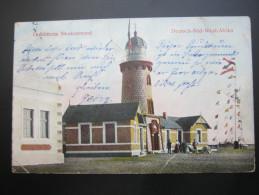 1906 , Leuchtturm  Swakopmund,  Seltene Karte Verschickt - Colony: German South West Africa