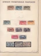 Collection sur feuilles Yvert standard - cote 1295� - 20 scans