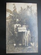 "1906 , Fotokarte "" Frohe Ostern ""  , Mit Schutztruppensiegel - Colony: German South West Africa"