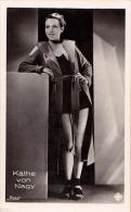 CINÉMA ANCIEN - KÄTHE VON NAGY - PHOTO Des ANNÉES 1920 - ´30 : ROSS - DIMENSIONS ~ 5 X 7 CM (r-025) - Acteurs