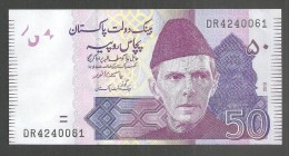 PAKISTAN BANKNOTE RS 50 SIGNATURE  YESEEN ANWAR  DR 4240061  UNC 2013 - Pakistan