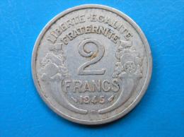 PETIT PRIX 2 francs Morlon alu 1945 B