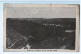 Forêt De PAIMPONT :Le Val Sans Retour   1951 , ETAT !!    ( 1193  ) PRIX FIXE ! - Paimpont