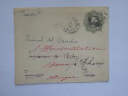Amérique  ,CHILI :Lettre Entier Postal Du  CHILI  Vers L'Allemagne En 1911 - Chili