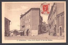 AURIGNAC - Place De La Mairie Et Rue Des Nobles - France