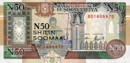 Somalia 50 Shillings 1991 Pick R2 UNC - Somalia
