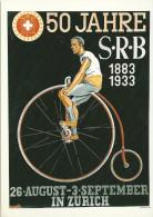 50 Jahre Schweizerischer Radfahrer Bund SRB  (Repro)         Ca. 1980 - Altri