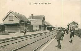 Cpa BELGIQUE - La Gare De FROYENNES - Tournai