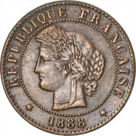 [#34797] IIIème République, 1 Centime Cérès, 1888 A, Paris, Gadoury 88 - A. 1 Centime
