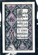 CHARLES BAETENS : LOKEREN 1868 : 1892  - 2 SCANS - Images Religieuses