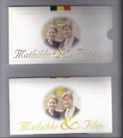 BELGIE - BELGIQUE 250 Frank / 250 Franc Mathilde En Philippe PROOF-QUALITY In Blister 1999 - 07. 250 Francs
