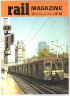 Rail Mag N° 019 Nov 78, TGV; St Lazare; TGV 260; Marc De Caso; Thionville-Mohon; 2901-2902; BB 16500; 4 Photo Au Centre - Eisenbahnen & Bahnwesen