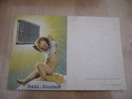 Ideal Standard Enfant Nu Naakt Kind - Publicité