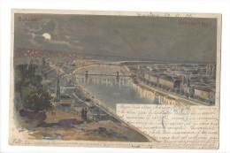 10842 -  Budapest Au Clair De Lune En 1899 - Hongrie