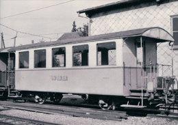 Chemin De Fer Suisse, Wynental- Und Suhrentalbahn, Train à Schöftland, Photo 1967 BVA 186.12 WSB - Treinen