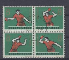 China Michel No. 864 - 867 Viererblock gestempelt used
