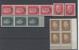 Lot Deutsches Reich Michel No. 410 , 444 , 445 (*) ohne Gummi
